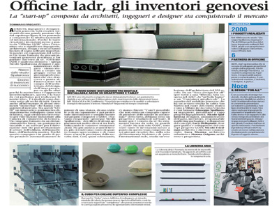 Press Officine IADR 26 march 2014 Corriere Mercantile