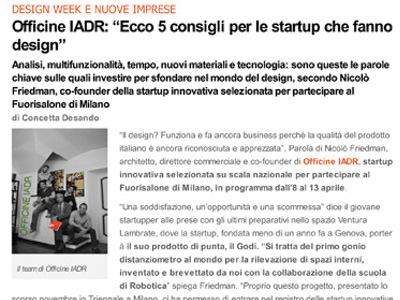 Press Officine IADR 8 april 2014 economyup