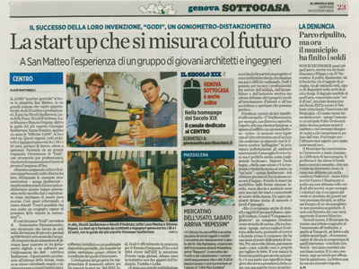 Press Officine IADR 10 July 2014 Il Secolo XIX